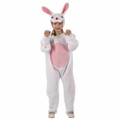 Witte konijn/haas verkleedkleding voor kinderen