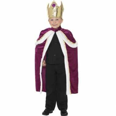 Zachte koningscape voor kinderen