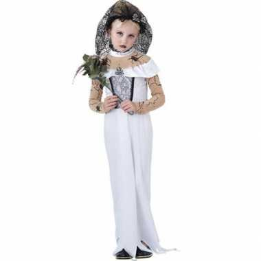 Zombie bruid meisjes verkleedkleding