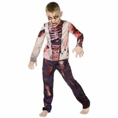 Zombie verkleedkleding voor kinderen