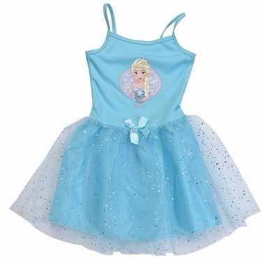 Zomer verkleedkleding frozen voor meisjes