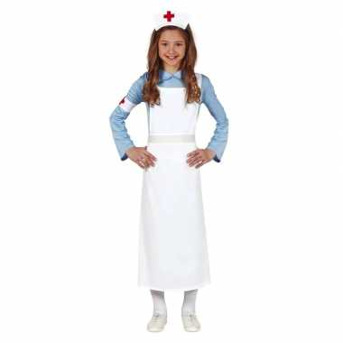 Zuster verpleegster uniform verkleedkleding voor meisjes