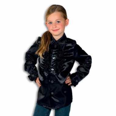 Zwarte hippie verkleedkleding voor jongens