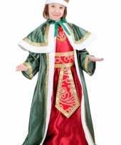 De drie wijzen groen verkleedkleding voor kinderen