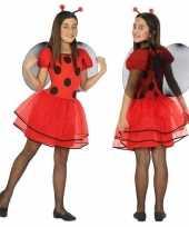 Lieveheersbeestje verkleedkleding voor meisjes